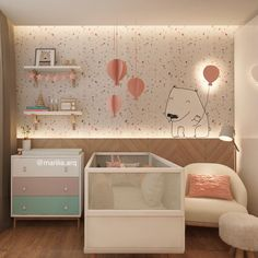 For more nursery's inspirations go to CIRCU.NET and discover more ideas and furniture for luxury baby bedroom Baby Bedroom, Baby Room Decor, Nursery Room, Girls Bedroom, Bedroom Decor, Shower Bebe, Baby Room Design, Kids Decor, Home Decor