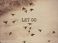 niet makkelijk 'loslaten'...