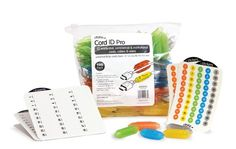 Dotz Cord ID Pro Cord and Cable Identification System, 100 Count Bag, Assorted Colors (DCI151M) Dotz http://www.amazon.com/dp/B00D5ESJF6/ref=cm_sw_r_pi_dp_pfv-vb071FHNZ