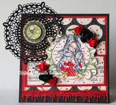 E Creations - Halloween Medusa