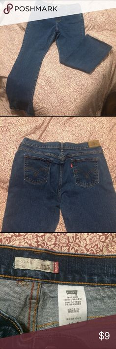 Levis 515 boot cut jeans size 12 S Levi's 515 cute boot cut jeans size 12 S. Great condition. Wear them with your best boots for work or play. Levi's Jeans Boot Cut