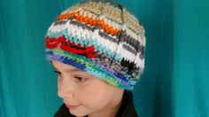 Hey, I found this really awesome Etsy listing at https://www.etsy.com/listing/472890097/ooak-scrappy-crochet-windowpane-beanie