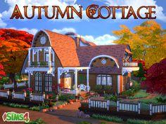 Autumn Cottage by Waterwoman at Akisima via Sims 4 Updates