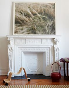 BIG framed photo~   A CUP OF JO: New York City house tour