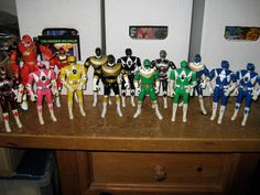 Vintage Power Rangers action figure lot of by HANNIBALSTOYSNMORE, $69.99