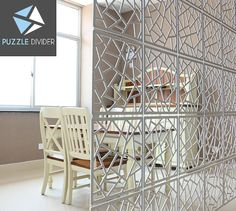 Room Divider. Interior partition. Room decor. Hanging screen - 12 pieces