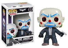 Funko POP Heroes: Dark Knight Movie Bank Robber Vinyl Figure