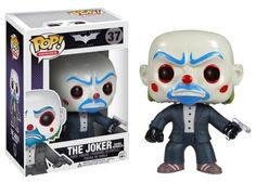 Buy Batman Dark Knight The Joker Bank Robber Funko Pop! Vinyl from Pop In A Box UK, the home of Funko Pop Vinyl subscriptions and more. Heath Ledger, Funko Figures, Vinyl Figures, Action Figures, Pop Figures, The Dark Knight Trilogy, The Dark Knight Rises, Batman Dark, Batman The Dark Knight