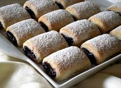 The Daniel Plan, Kolaci I Torte, Hungarian Recipes, Sweet Cakes, Croissant, Hot Dog Buns, Biscotti, Banana Bread, Food And Drink
