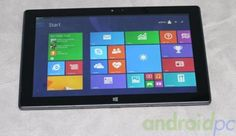 Pipo's dual boot tablet. Android, Windows