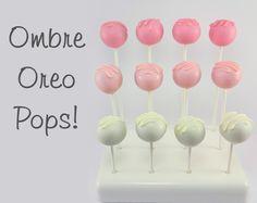 Ombre Oreo Pops