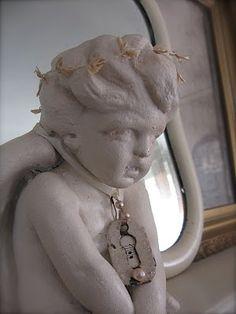 i love my angel statuary...