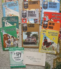 I-spy books, one shilling each | Flickr - Photo Sharing!