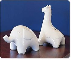 PBK giraffe bank -- Saw this in-store and knew it had to come home with me!