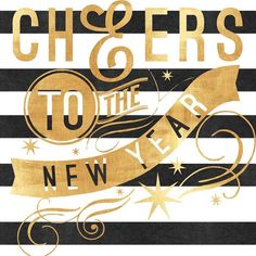 Cheers to a bright bold & fabulous New Year!
