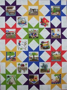 """gotexan.org....this would also make a great """"I Spy"""" baby quilt"""