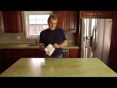 How to Seal Concrete Countertops with Z Aqua-Poxy - YouTube