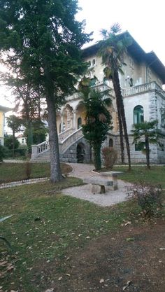 Villas of Lovran and Opatija in the region of Kvarner in Croatia