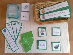 The Montessori green series La s rie verte Monte Montessori Homeschool, Montessori Classroom, Montessori Activities, Homeschool Curriculum, Kids Homework, Montessori Materials, Teacher Organization, Home Schooling, Kids Learning