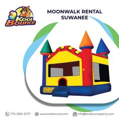 Is it safe to say you are looking for Suwanee Rental Bounce House? Kool Bounce Party has Rental Suwanee for Bounce House. We are likely to make jumping castles fair, offering recollections and joy to families and their children for any event that includes rental costs. For any question please call us at 770-995-6777! Bounce House Parties, House Party, Moonwalk Rentals, Inflatable Rentals, Bounce House Rentals, Bubble Machine, Party Needs, Carnival Games, It's Your Birthday