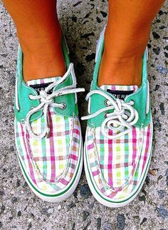 My Colorful Sperrys