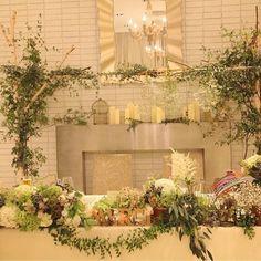 【会場装飾】素敵なナチュラルウェディング!ご新婦さまこだわりの会場装飾&DIYウェディングアイテム