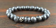 Hey, I found this really awesome Etsy listing at https://www.etsy.com/listing/257633454/mens-beaded-bracelet-mens-hematite