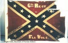 6th Florida Infantry Regimental Colors - ANV Pattern (ca March/April 1864 - December 16th, 1864).