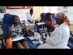 Les jeunes bénévoles de Côte d'Ivoire initie une opération de don de sang