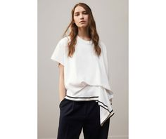 For the third consecutive year, Petit Bateau has called on the young talent rewarded at the Hyères Festival to revisit their signature pieces. After Satu Maaranen and Kenta Matsushige, Annelie Schubert takes the reins, reinterpreting Petit Bateau's Breton striped and white t-shirts.