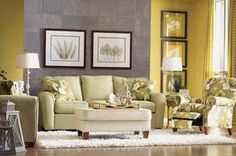I like this living room:  Charlotte - Official La-Z-Boy Website