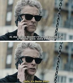 "Doctor Who "" The Zygon Invasion"" (9x07) - #PeterCapaldi Doctor Disco"