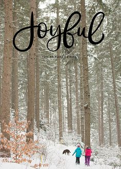 Joyful Heart Card (Also in red and white.) | Design by @brightroom | #cards #holiday