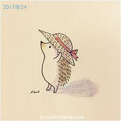 1258 麦わら帽子 a straw hat