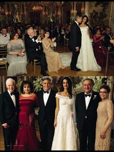 George Clooney and Amal Alamuddin Wedding
