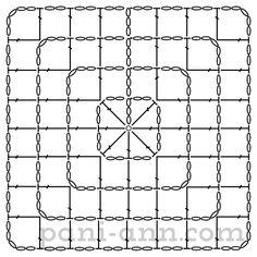 Овал, квадрат, прямоугольник, круг и другое. Вязание крючком для начинающих.