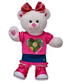 Girl Scout™ Flair Bear | Build-A-Bear Workshop