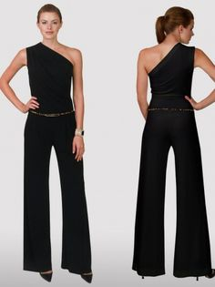 Asymmetric Jumpsuit.