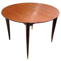 Gio Ponti Italian Walnut Dining Table