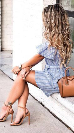 JavaScript is currently disabled in this browser. Reactivate it to view this content. Just give me all the spring dresses & nude. Classy Casual, Classy Dress, Casual Wear, Cool Outfits, Casual Outfits, Summer Outfits, Travel Outfits, Vacation Outfits, Dress Hairstyles