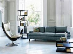 Desain Interior Ruang Tamu Dengan Sofa Klasik Abu-abu | Griya Indonesia