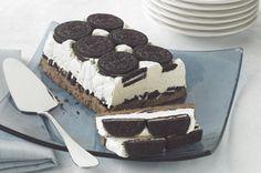 Oreo Cookies & Cream Freeze #oreorecipes