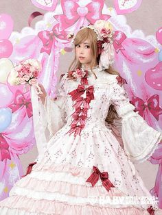 SELEN in Baby the Stars Shine Bright - Bouquet de bénédictions faite uniquement pour princesse~プリンセスがリボンで紡ぐ想いと願いの物語~ドレスセット