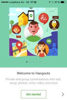 Google Hangouts - iOS