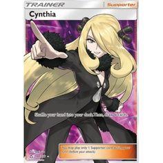Reverse Holo Uncommon Near Mint Pokemon Card Cynthia 119//156 Ultra Prism