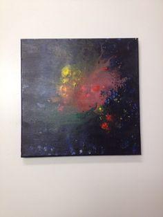 Abstract acrylic
