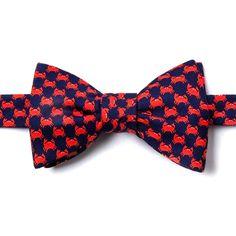 Micro crabs bow tie