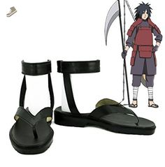 NARUTO Anime Uchiha Madara Cosplay Shoes Boots Custom Made *** You can find out more details at the link of the image. (This is an affiliate link and I receive a commission for the sales) Skateboard Logo, Naruto Costumes, Cosplay Costumes, Madara Cosplay, Naruto Clothing, Cosplay Boots, Naruto Anime, Madara Uchiha, Frases