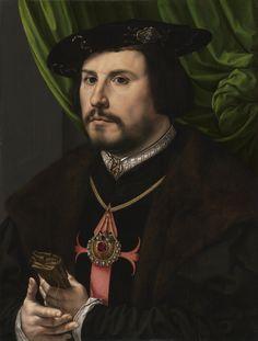 Portrait of Francisco de los Cobos y Molina - Jan Gossaert (Mabuse)