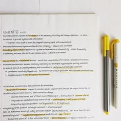 Color of the day: yellow! Pretty Handwriting, Handwriting Practice, Work Motivation, School Motivation, Pretty Notes, Good Notes, Study Organization, Study Space, Student Studying